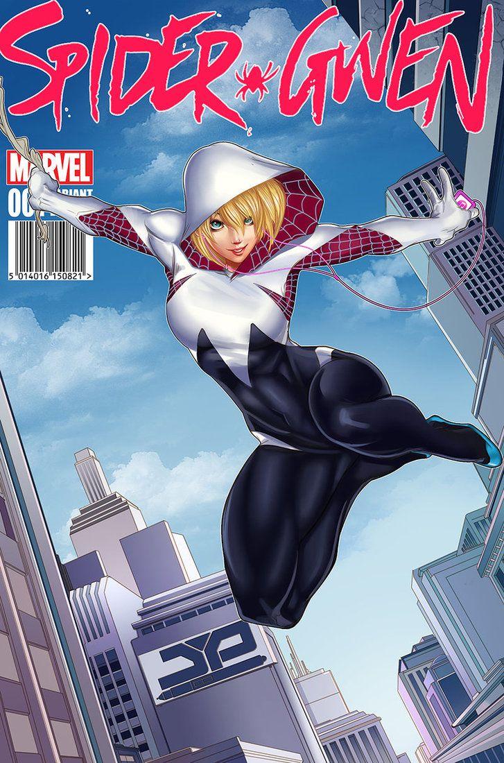 Spider Gwen by KofJP.deviantart.com on @DeviantArt