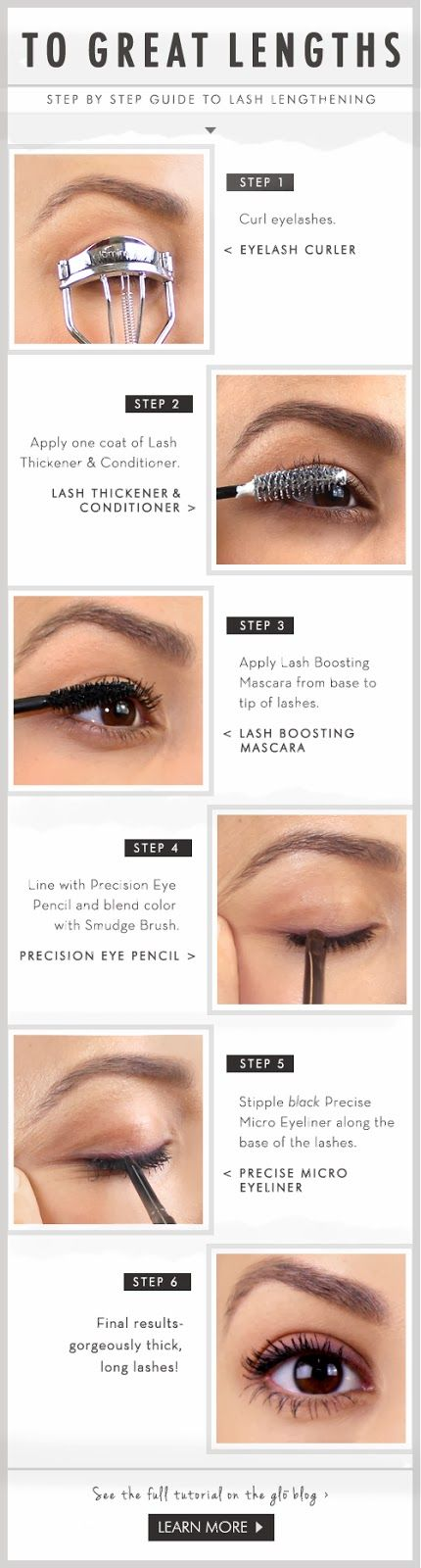 TO GREAT LENGTHS | Step By Step Guide to Lash Lengthening.