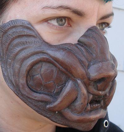 Cold cast copper werewolf mask by missmonster.deviantart.com on @deviantART