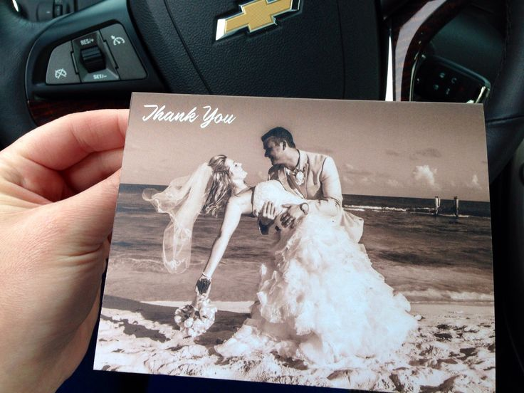 Our Wedding Thank You Cards Www Vistaprint