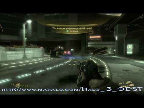 Halo 3: ODST Walkthrough - Mission 01: Prepare to Drop Part 1 - http://www.thehowto.info/halo-3-odst-walkthrough-mission-01-prepare-to-drop-part-1/