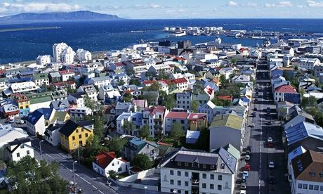Reykjavik, Iceland, where given names must be 'written in accordance with the ordinary rules of Icelandic orthography'. Photograph: John War...