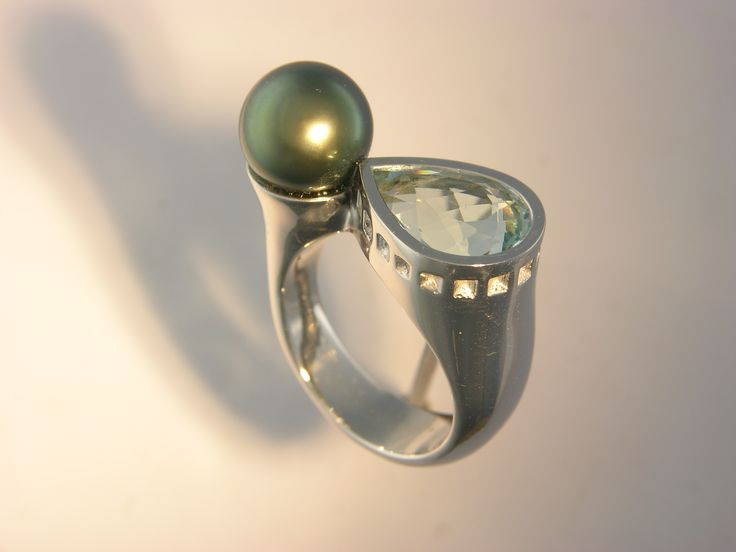 Collection Perle Tournaire #tournaire #jewels #jewelry #luxe #perle #pearl #bague #ring