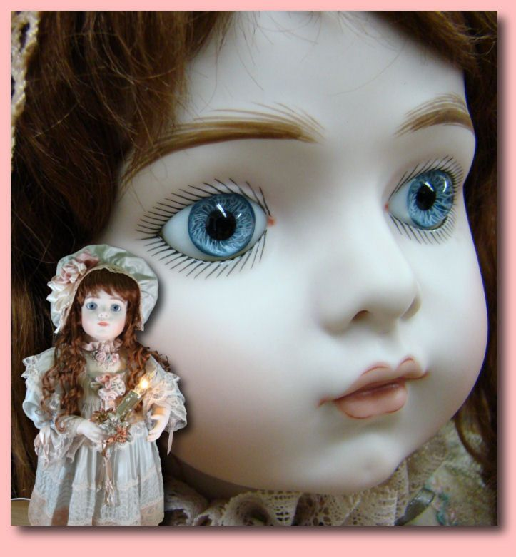Porcelain Dolls for Sale - Bru Jne 11 Christmas Mechanical