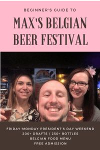 Max's Belgian Beer Festival in Baltimore, Maryland - A Beginner's Guide