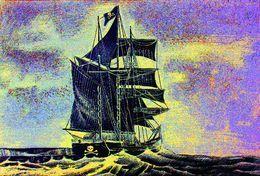 Pirate Ship  Ahoy Matey by simon-knott-fine-artist at zippi.co.uk