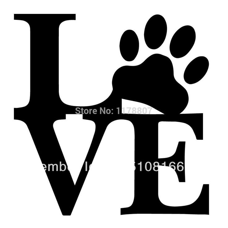 Love Paw Animal Pet Dog Cat Cute Sticker For Car Windshield Truck SUV Bumper Door Laptop Kayak Wall Die Cut Vinyl Decal 8 Colors-in Stickers from Automobiles & Motorcycles on Aliexpress.com | Alibaba Group