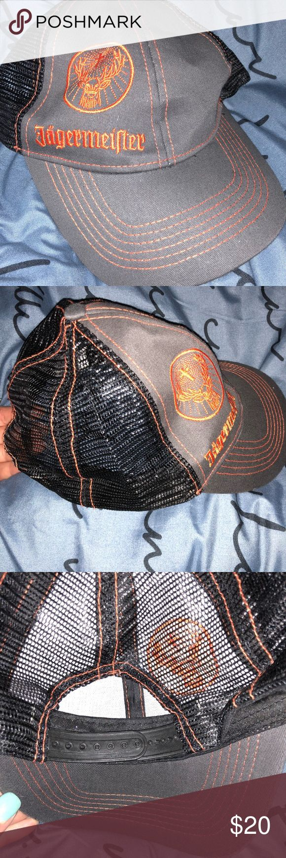PRICE DROPJaegermeister embroidered baseball cap Jagermeister embroidered baseball cap. Adjustable, NEW, NEVER WORN $7  PRICE DROP  HOLIDAY SALE ⚡️⚡️⚡️ Accessories Hats