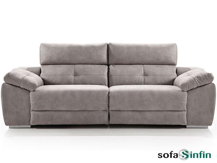 Sofá relax de 3 y 2 plazas modelo Memory fabricado por Acomodel en Sofassinfin.es