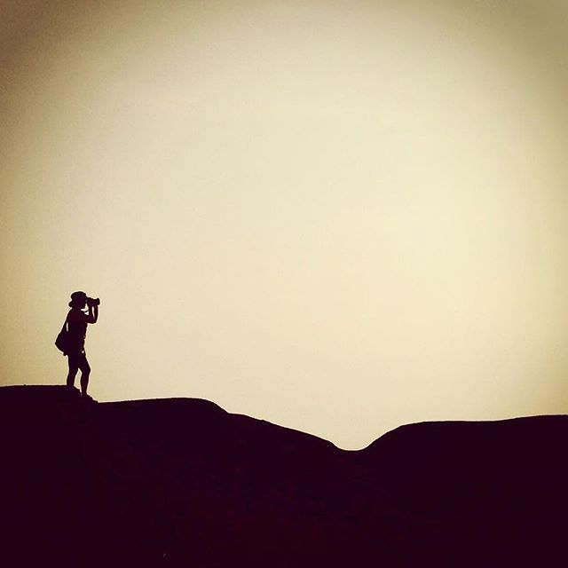 Me and my camera. Our morning walk in Sarigua National Park in Panama. heatherbourque.ca  #Panama #travel #photography