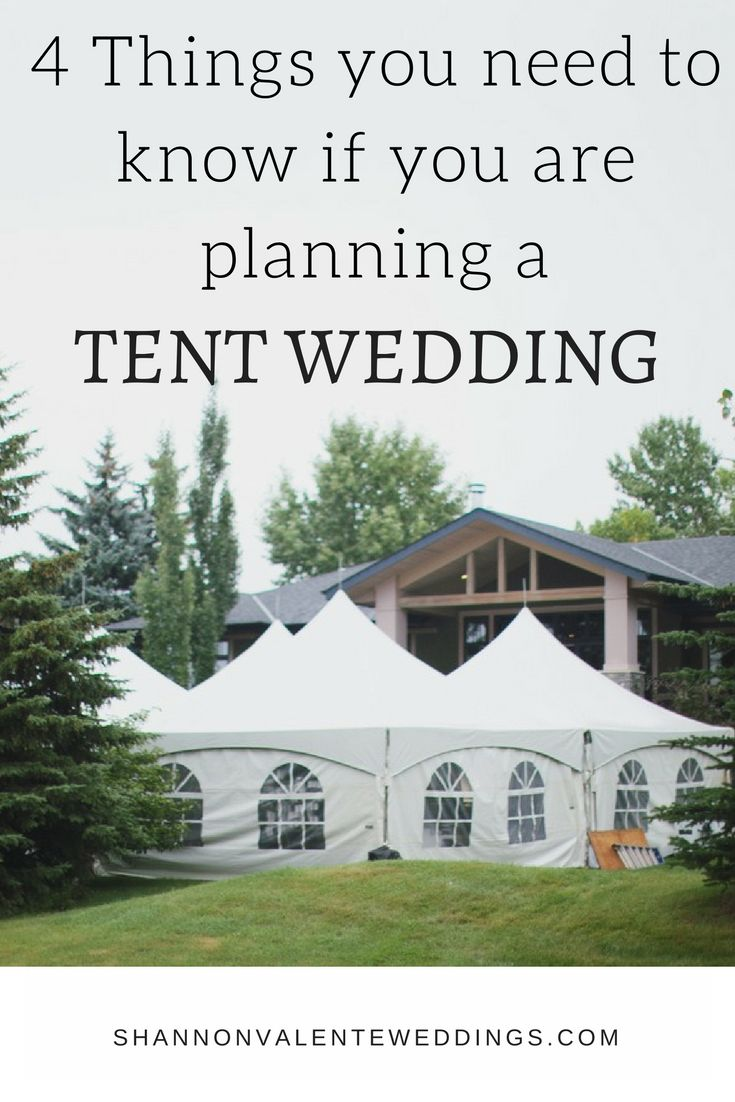 Tent Weddings In Calgary Wedding Planning TipsWedding