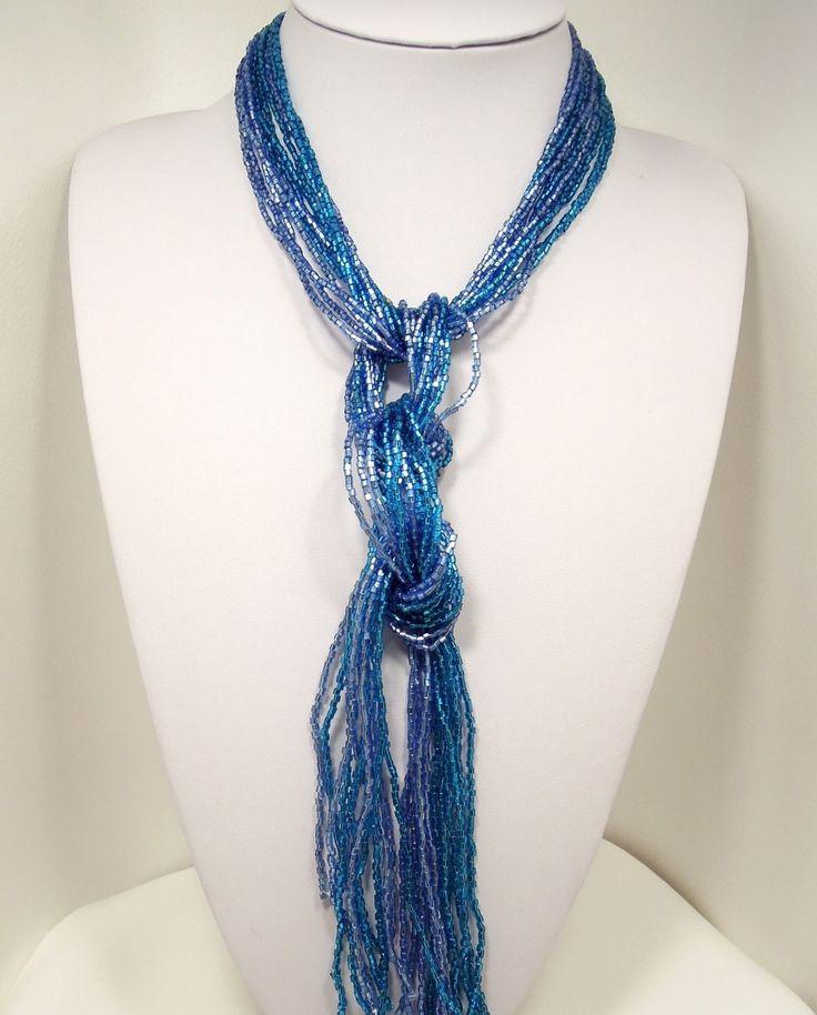 Tie Necklace Cravatta Azzurra Rialto Store Italy