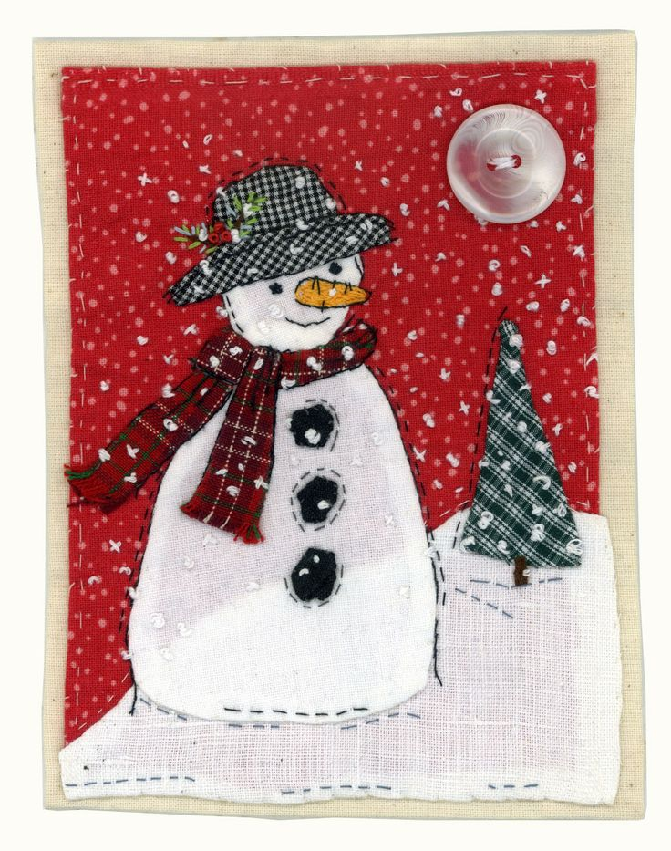 Mr. snowman by Sharon Blackman