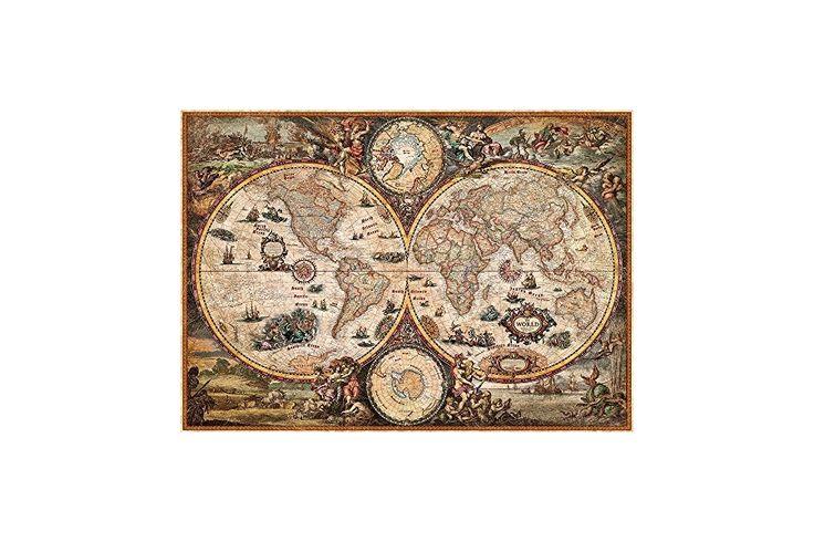 Väldskarta Vintage World