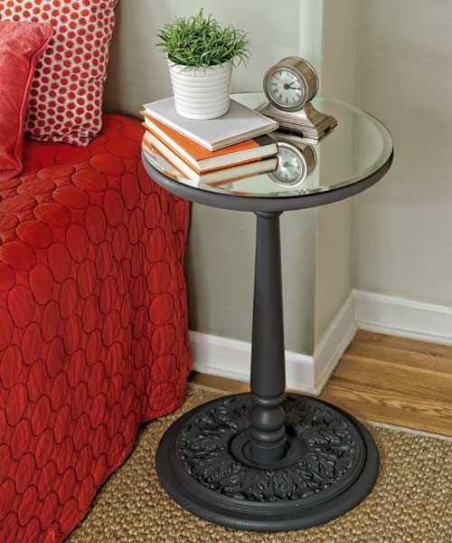 91 best images about diy mirrored furniture on pinterest for Make your own bedside table