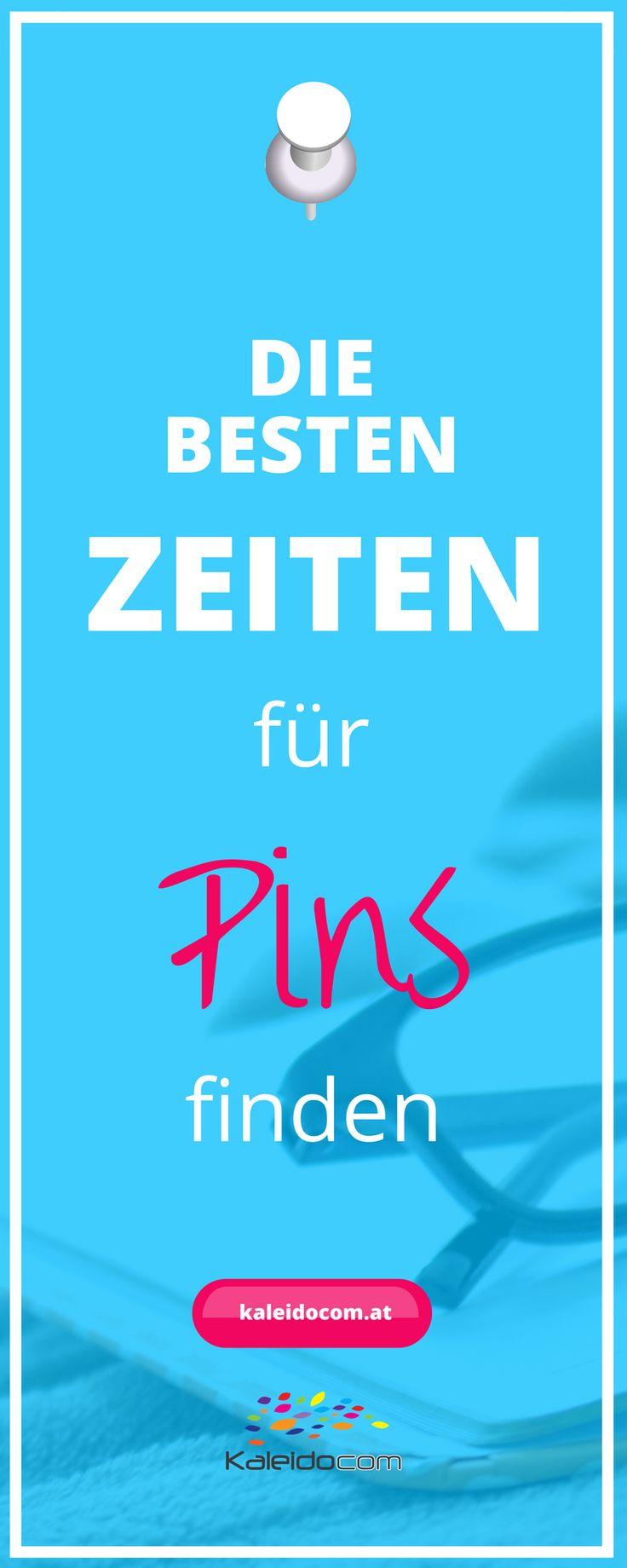 Gibt es die besten Zeiten für Pins auf Pinterest? Erfahre hier, welche Uhrzeit für Pins gut geeignet ist. #pinteresttipp #pinterestmarketing