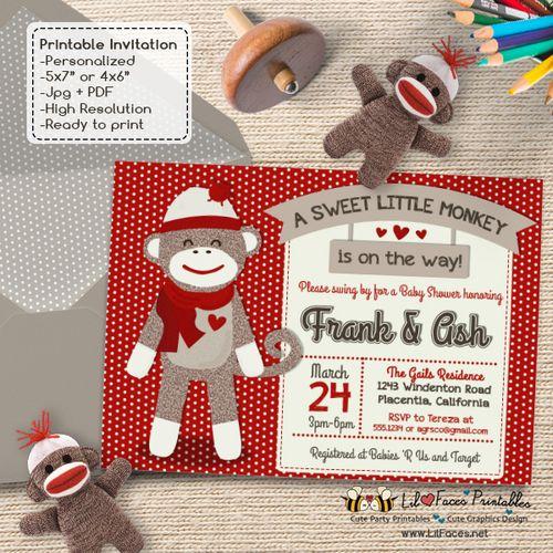 Best 20+ Sock Monkey Baby Ideas On Pinterest