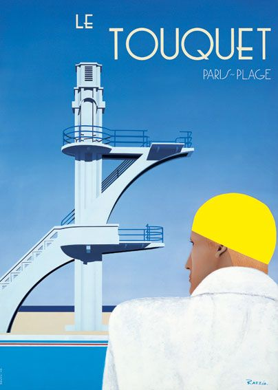 Le Touquet, Paris Plage by Razzia.