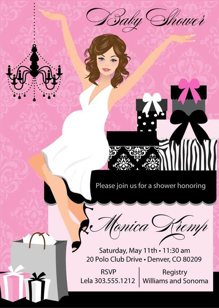 91 best Baby Shower Invitations images on Pinterest | Shower ...