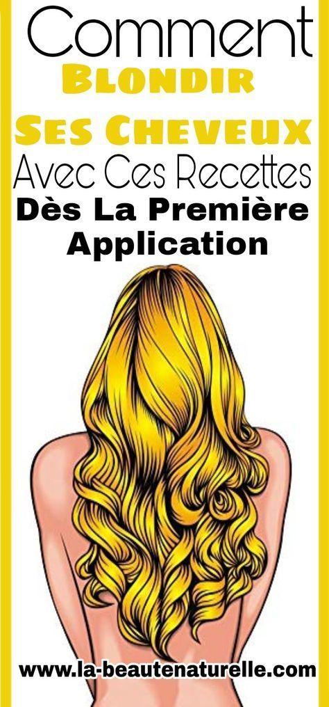 Remark blondir ses cheveux dès la première utility