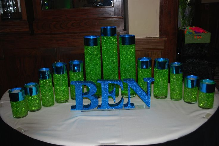 Bar Mitzvah Candle lighting Display Party Perfect, Boca Raton, FL 1(561)994-8833