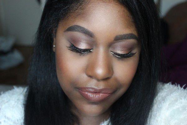 Sheer Beauty: Glowing Makeup