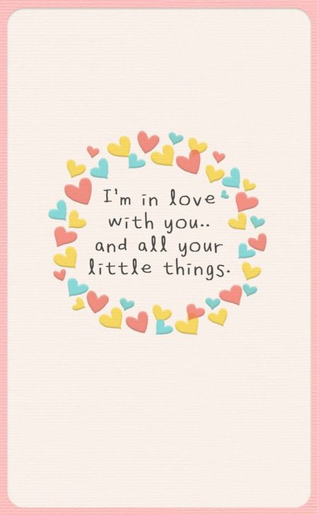Aku jatuh cinta padamu, sekaligus semua hal-hal kecil tentangmu.