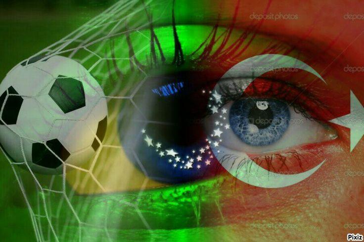 #Türkiye #Brasil #Futebol