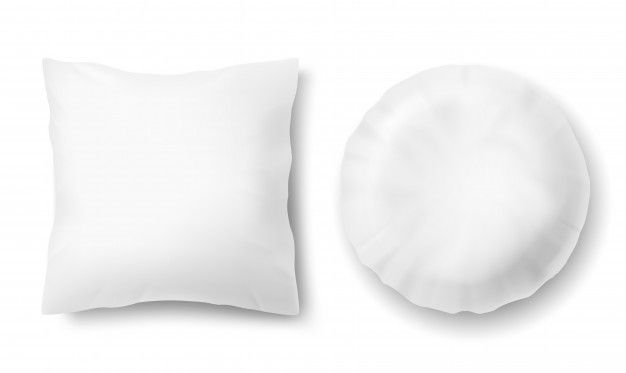 Download 3d Realistic Comfortable Pillows Square Round Mock Up Of White Fluffy Cushion For Free White Fluffy Cushions Comfortable Pillows Fluffy Cushions