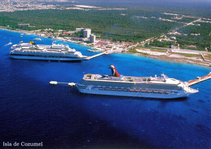Carnival Curise ship...our 3rd stop on our 25th anniversary crusie was Cozumel...