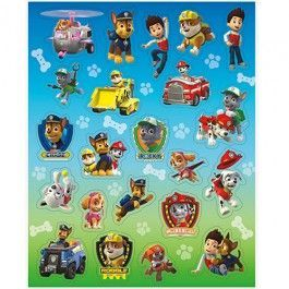 Paw Patrol Party Supplies, Paw Patrol Stickers, Party Favors