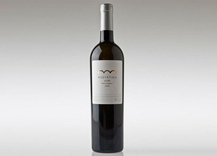 assyrtiko wild ferment by GAIA- I love this wine