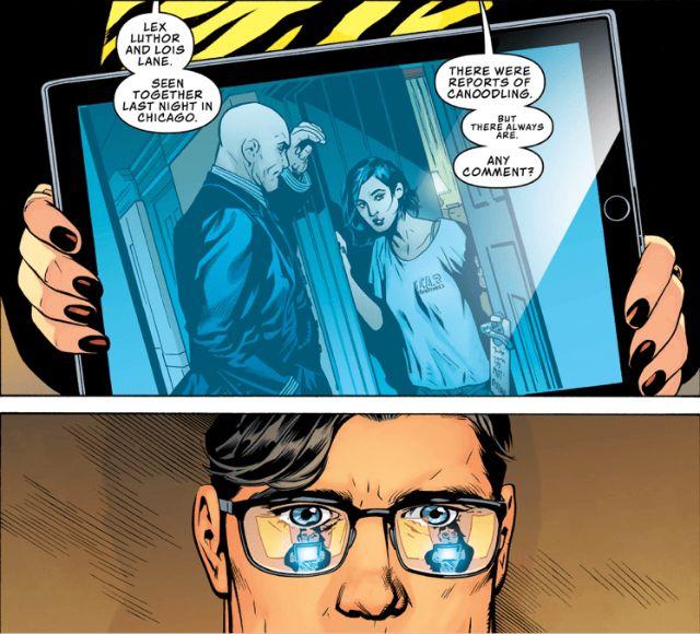 Someone S Not Happy Lex Luthor Superman News Lois Lane
