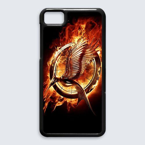 The Hunger Games Logo BlackBerry Z10 Case $16.89 #etsy #Accessories #Case #cover #CellPhone #BlackBerryZ10 #BlackBerryZ10case #BlackBerry #thehungergames #hungergames  #novel #adventure #CatchingFire #Mockingjay #JoshHutcherson #jenniferlawrence
