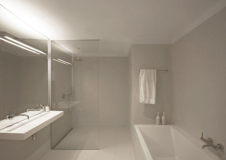 minimalist bathroom lighting interior design ideas