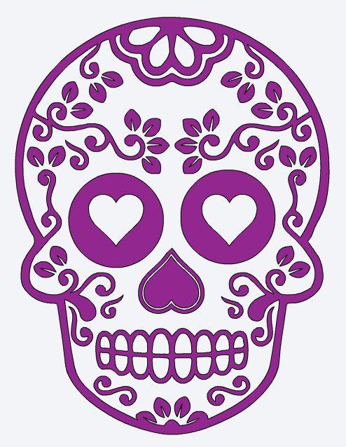 Designer Fashion 34f70 85a5a Sugar Skull Stickers Pinterest Com