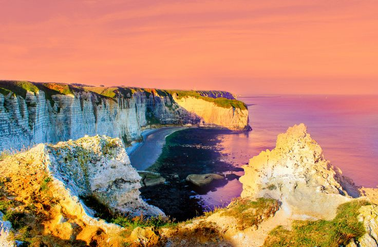 Chalk Cliffs Of Normandy France by Julia Fine Art © Julia Apostolova on 500px