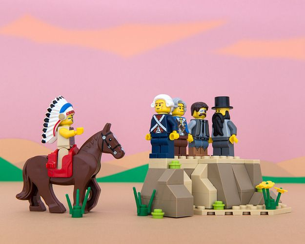 South Dakota | All 50 States Recreated By Legos