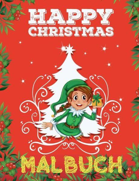 ?? Frohe Weihnachten Malbuch 7 Jahre ?? (Malbuch 7 Jährige): ?? Color Christmas Coloring Book Kids ?