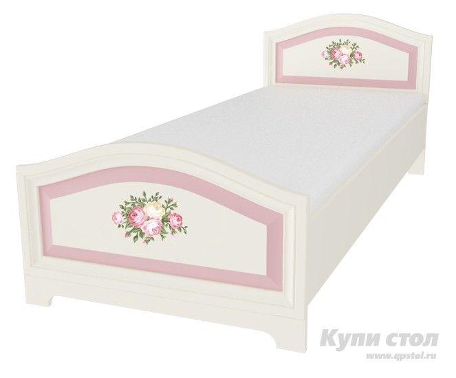 Кровать Алиса 80*200  Кровать из детской модульной серии Алиса.    Модульная система Алиса поможет сделать комнату мечты явью для маленькой любительницы сказок и волшебства. Нежная цветовая гамма с преобладанием зефирно-розового, изящные элементы оформления и изумительный, цветочный декор на каждом элементе модульной системы сделают детскую спальню цельной, наполненной упоительной магией детства.      Кровать Алиса подарит маленькой принцессе чудесные ощущения во время сна. Не секрет, что…