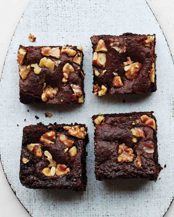 Chocolate-Walnut Brownies
