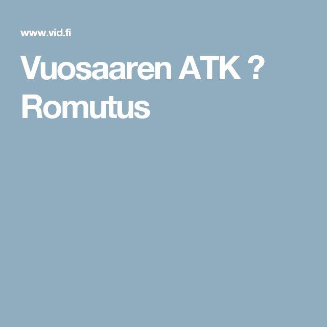 Vuosaaren ATK ➟ Romutus