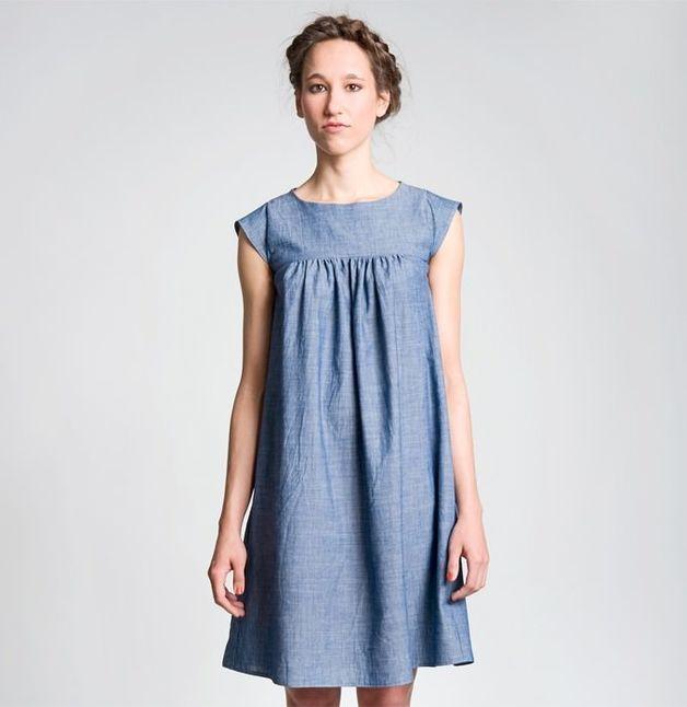 """Kleider & Schürzen - Kleid """"Hannah"""" von schnittchen - ein Designerstück von stoffsalon bei DaWanda"""