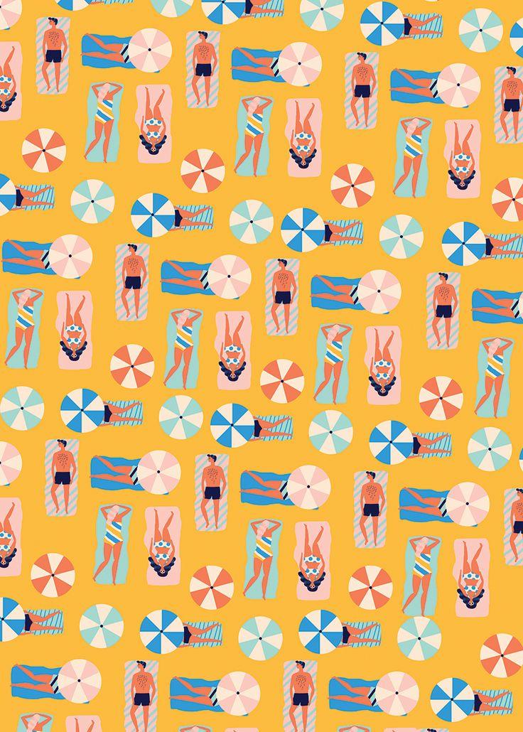 Naomi Wilkinson Illustration : beach babes