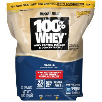 Cytosport 100% Whey Protein Powder, 6 Pounds
