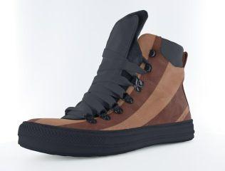 Ontwerp je eigen schoen in de kleur en materiaal. Mooi in bruine tinten.