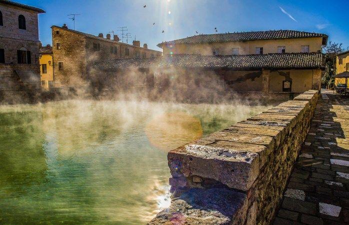 Região da Toscana: Experimente os banhos termais de Bagno Vignoni