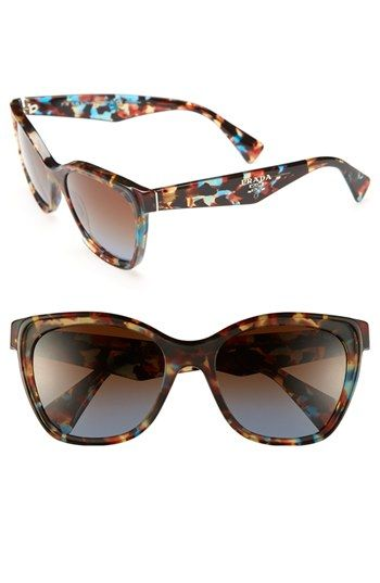 What dreams are made of!! Prada Oversized Retro Sunglasses available at #Nordstrom