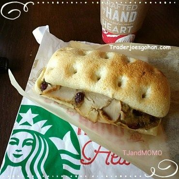 Starbucks Holiday Turkey & Stuffing Panini  | STARBUCKS Homestyle Chicken & Double-Smoked Bacon | スタバのサンドイッチとパニーニ STARBUCKS Sandwiches & Paninis | #STARBUCKS #Sandwich #Panini