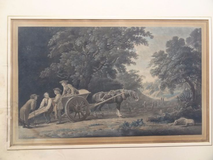 Baynton Williams - The Art of Printing (2 Pcs) Lithography 1820-1840 #Vintage